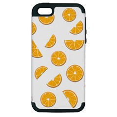 Oranges Apple Iphone 5 Hardshell Case (pc+silicone) by Valentinaart