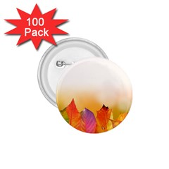 Autumn Leaves Colorful Fall Foliage 1 75  Buttons (100 Pack)  by Amaryn4rt