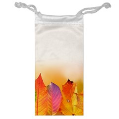 Autumn Leaves Colorful Fall Foliage Jewelry Bag by Amaryn4rt