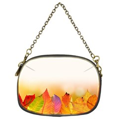 Autumn Leaves Colorful Fall Foliage Chain Purses (one Side)  by Amaryn4rt