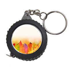 Autumn Leaves Colorful Fall Foliage Measuring Tapes by Amaryn4rt