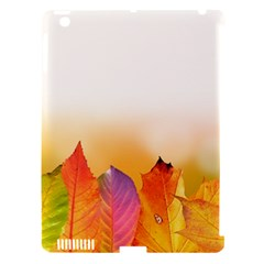 Autumn Leaves Colorful Fall Foliage Apple Ipad 3/4 Hardshell Case (compatible With Smart Cover) by Amaryn4rt