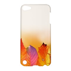 Autumn Leaves Colorful Fall Foliage Apple Ipod Touch 5 Hardshell Case by Amaryn4rt