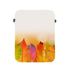 Autumn Leaves Colorful Fall Foliage Apple Ipad 2/3/4 Protective Soft Cases by Amaryn4rt