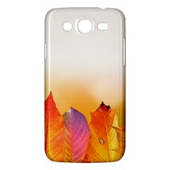 Autumn Leaves Colorful Fall Foliage Samsung Galaxy Mega 5 8 I9152 Hardshell Case  by Amaryn4rt
