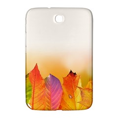 Autumn Leaves Colorful Fall Foliage Samsung Galaxy Note 8 0 N5100 Hardshell Case  by Amaryn4rt