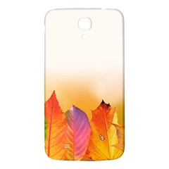 Autumn Leaves Colorful Fall Foliage Samsung Galaxy Mega I9200 Hardshell Back Case by Amaryn4rt
