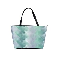 Background Bubblechema Perforation Shoulder Handbags by Amaryn4rt