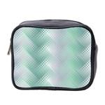 Background Bubblechema Perforation Mini Toiletries Bag 2-Side Front