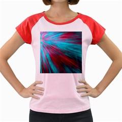 Background Texture Pattern Design Women s Cap Sleeve T-Shirt