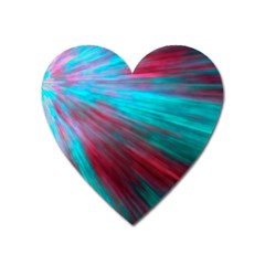 Background Texture Pattern Design Heart Magnet by Amaryn4rt