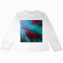 Background Texture Pattern Design Kids Long Sleeve T Shirts