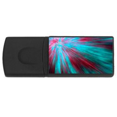 Background Texture Pattern Design Usb Flash Drive Rectangular (4 Gb)  by Amaryn4rt