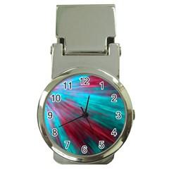 Background Texture Pattern Design Money Clip Watches by Amaryn4rt