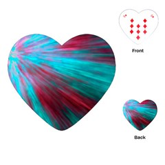 Background Texture Pattern Design Playing Cards (heart)  by Amaryn4rt