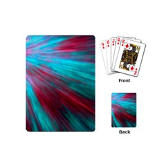 Background Texture Pattern Design Playing Cards (mini)  by Amaryn4rt
