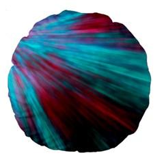 Background Texture Pattern Design Large 18  Premium Round Cushions by Amaryn4rt