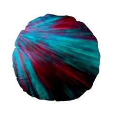 Background Texture Pattern Design Standard 15  Premium Flano Round Cushions