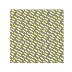 Yellow Washi Tape Tileable Small Satin Scarf (square) by Jojostore