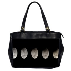 Moon Phase Office Handbags (2 Sides)  by Jojostore
