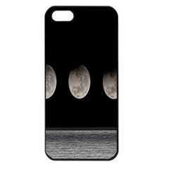 Moon Phase Apple Iphone 5 Seamless Case (black) by Jojostore