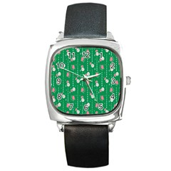 Pig Face Square Metal Watch by Jojostore