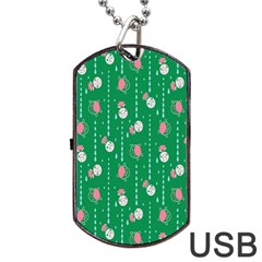 Pig Face Dog Tag Usb Flash (one Side) by Jojostore