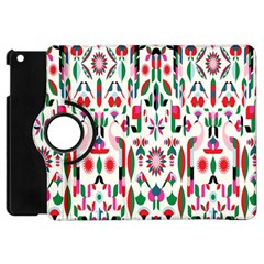 Peacock Flower Apple Ipad Mini Flip 360 Case by Jojostore