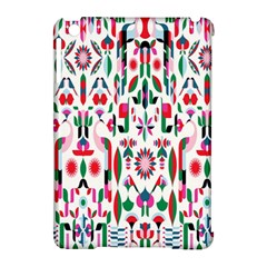 Peacock Flower Apple Ipad Mini Hardshell Case (compatible With Smart Cover) by Jojostore