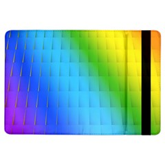 Rainbow Color Orange Yellow Green Purple Ipad Air Flip by Jojostore