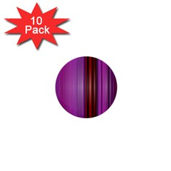 Purple Line Rainbow 1  Mini Buttons (10 Pack)