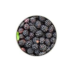 Blackberries Background Black Dark Hat Clip Ball Marker (10 Pack) by Amaryn4rt