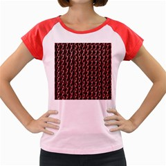 Chain Rusty Links Iron Metal Rust Women s Cap Sleeve T Shirt by Amaryn4rt