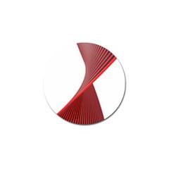 Red Black White Golf Ball Marker by Jojostore