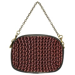 Chain Rusty Links Iron Metal Rust Chain Purses (one Side)  by Amaryn4rt
