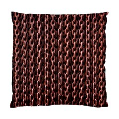 Chain Rusty Links Iron Metal Rust Standard Cushion Case (two Sides) by Amaryn4rt
