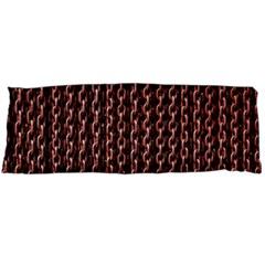 Chain Rusty Links Iron Metal Rust Body Pillow Case Dakimakura (two Sides) by Amaryn4rt