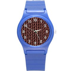 Chain Rusty Links Iron Metal Rust Round Plastic Sport Watch (s) by Amaryn4rt