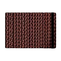 Chain Rusty Links Iron Metal Rust Ipad Mini 2 Flip Cases by Amaryn4rt