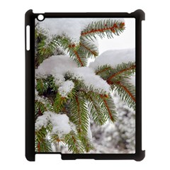 Brad Snow Winter White Green Apple Ipad 3/4 Case (black)