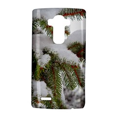Brad Snow Winter White Green Lg G4 Hardshell Case by Amaryn4rt