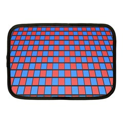 Red Blue Netbook Case (medium)  by Jojostore