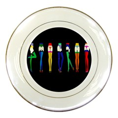 Sexy Collective Artists Porcelain Plates by Jojostore