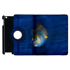 Fish Blue Animal Water Nature Apple Ipad 2 Flip 360 Case by Amaryn4rt