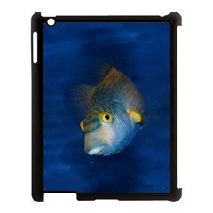 Fish Blue Animal Water Nature Apple Ipad 3/4 Case (black) by Amaryn4rt