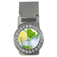 Cold Drink Lime Drink Cocktail Money Clips (cz)