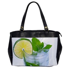 Cold Drink Lime Drink Cocktail Office Handbags by Amaryn4rt