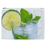 Cold Drink Lime Drink Cocktail Cosmetic Bag (XXL)  Front