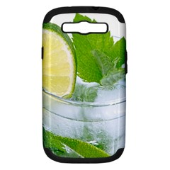 Cold Drink Lime Drink Cocktail Samsung Galaxy S Iii Hardshell Case (pc+silicone) by Amaryn4rt