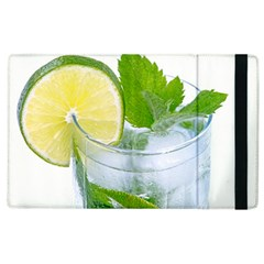 Cold Drink Lime Drink Cocktail Apple iPad 3/4 Flip Case by Amaryn4rt